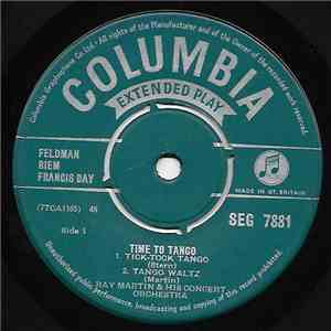 Ray Martin And His Orchestra - Time To Tango mp3 flac download