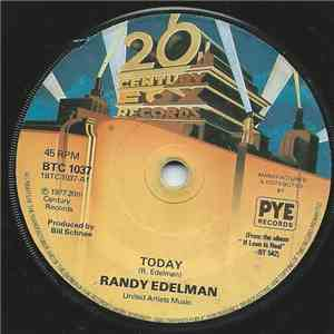 Randy Edelman - Today mp3 flac download
