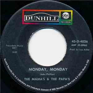 The Mama's & The Papa's - Monday, Monday / Got A Feelin' mp3 flac download