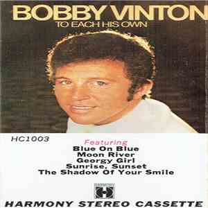 Bobby Vinton - To Each His Own mp3 flac download