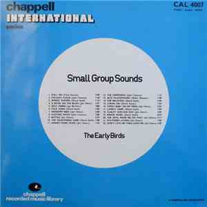 The Early Birds - Small Group Sounds mp3 flac download