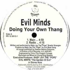 Evil Minds - Doing Your Own Thang mp3 flac download