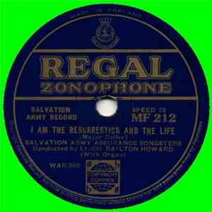 Salvation Army Assurance Songsters - I Am The Resurrection And The Life mp3 flac download