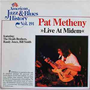 Pat Metheny - Live At Midem mp3 flac download