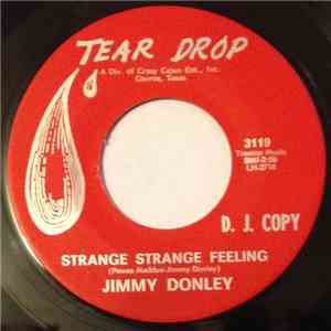 Jimmy Donley - Strange, Strange Feeling / My Forbidden Love mp3 flac download