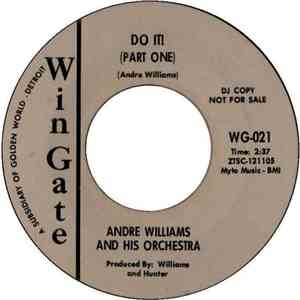 Andre Williams And His Orchestra - Do It (Part One) / Do It (Part Two) mp3 flac download