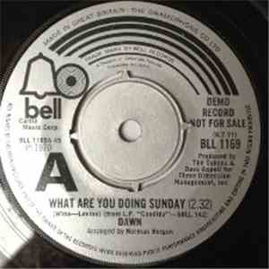 Dawn  - What Are You Doing Sunday mp3 flac download