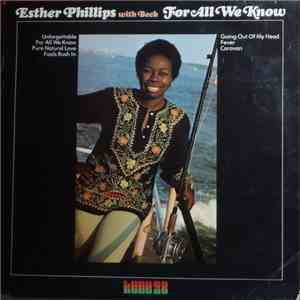 Esther Phillips With Beck - For All We Know mp3 flac download