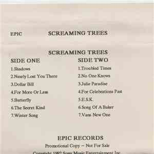 Screaming Trees - Sweet Oblivion mp3 flac download