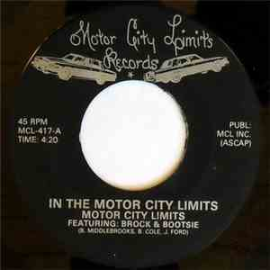 Motor City Limits Featuring: Brock & Bootsie - In The Motor City Limits mp3 flac download