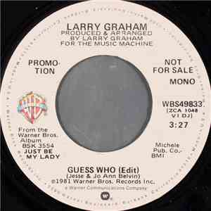 Larry Graham - Guess Who (Edit) mp3 flac download