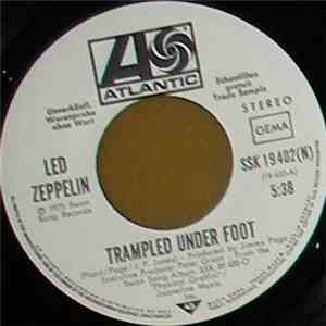 Led Zeppelin - Trampled Under Foot / Black Country Woman mp3 flac download